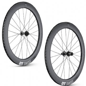 Paire de roues carbone ARC 1100 DICUT 62 Disc DT SWISS